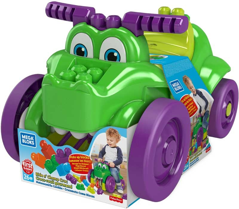 Wholesalers of Mega Bloks Ride N Chomp Croc toys