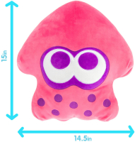 Wholesalers of Mega Collectible Pink Neon Squid toys image 2