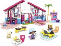 Wholesalers of Mega Construx Barbie Malibu House toys image 2