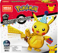 Wholesalers of Mega Construx Pokemon Celebration Pikachu toys image