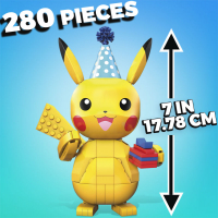 Wholesalers of Mega Construx Pokemon Celebration Pikachu toys image 3