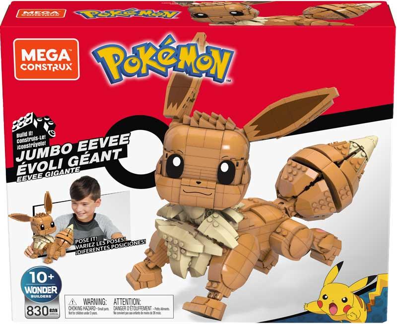 Wholesalers of Mega Construx Pokemon Jumbo Eevee toys