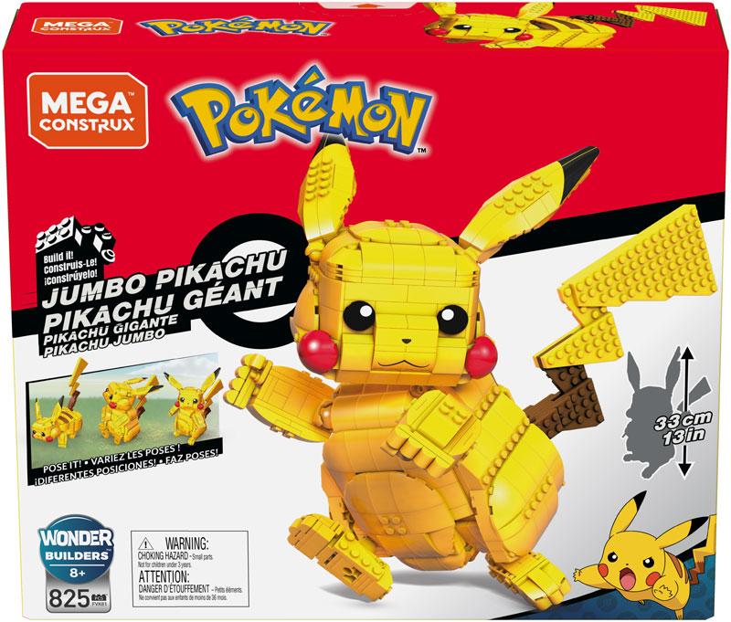Wholesalers of Mega Construx Pokemon Jumbo Pikachu toys