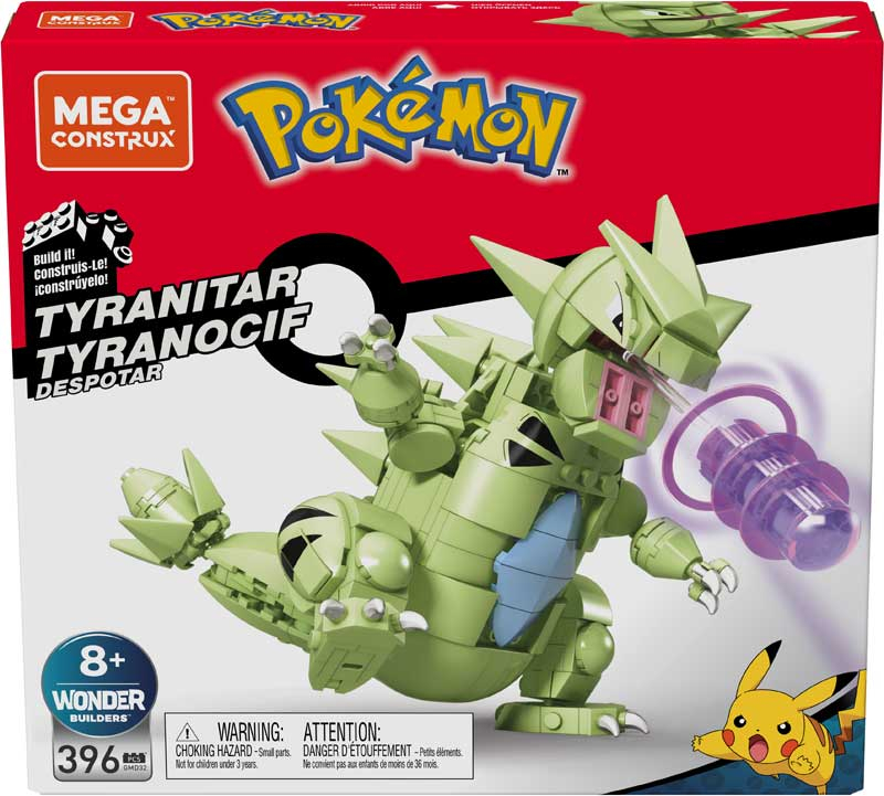 Wholesalers of Mega Construx Pokemon Tyranitar toys