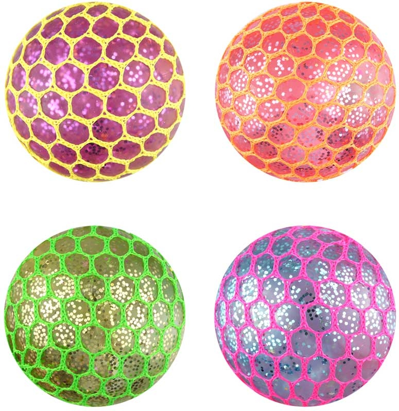 Wholesalers of Mesh Ball Light Up Glitter toys