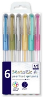 Wholesalers of Metallic Pearl Gel Pens toys image