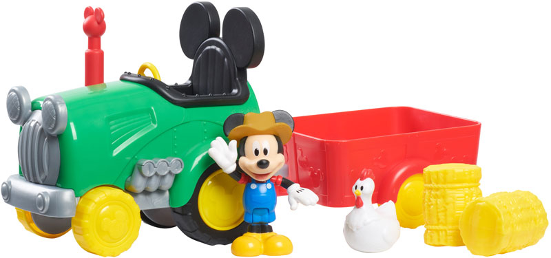 Wholesalers of Mickey Mouse Barnyard Fun Tractor toys