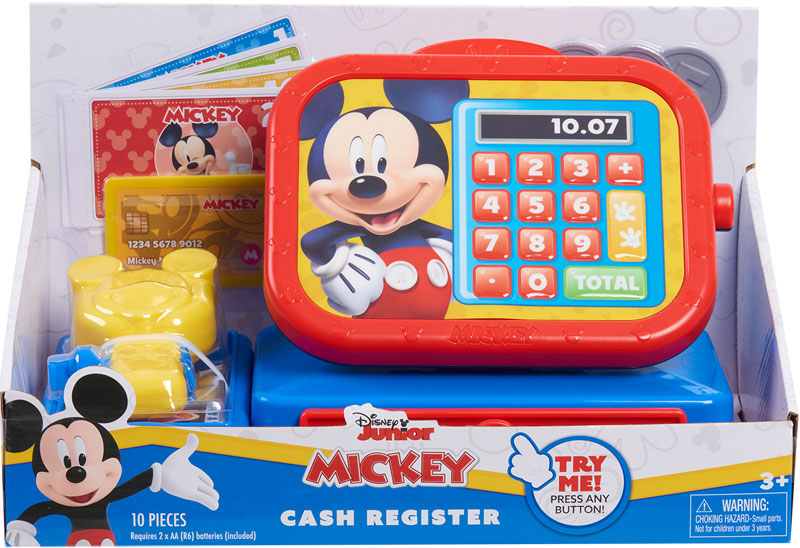 Wholesalers of Mickey Mouse Funhouse Cash Register toys