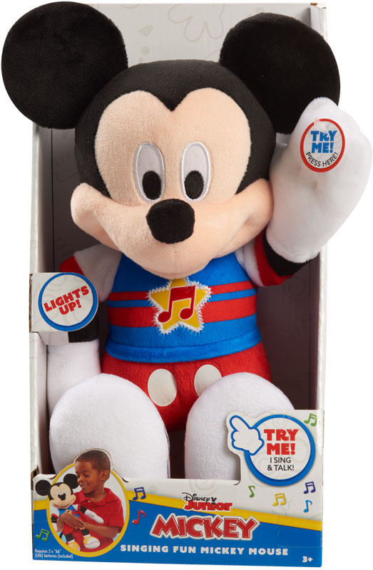 Wholesalers of Mickey Mouse Singing Fun Plush toys