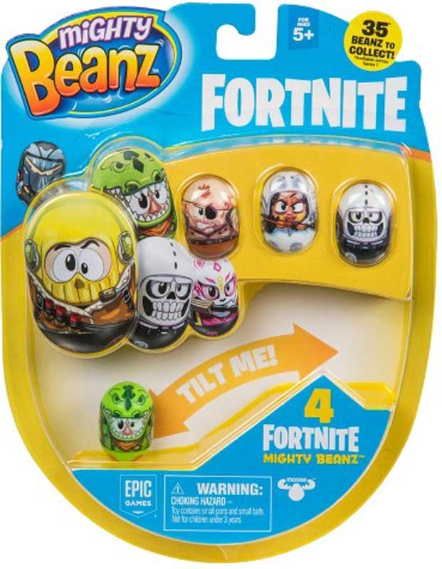 Wholesalers of Mighty Beanz Fortnite 4-pack toys