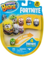 Wholesalers of Mighty Beanz Fortnite 4-pack toys image