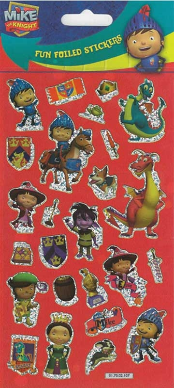 Wholesalers of Mike The Knight Stickers Lrg toys