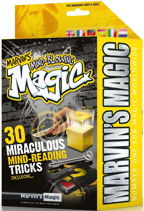 Wholesalers of Mind-blowing Magic 30 Miraculous Mind-reading Tricks toys