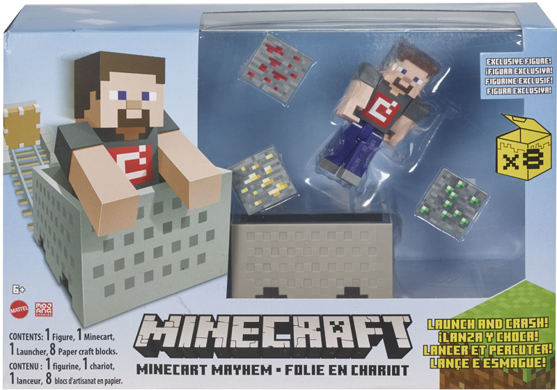 Wholesalers of Minecraft 3.25inch Minecart Asst toys