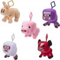 Wholesalers of Minecraft Clip Plush Asst toys image