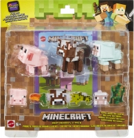 Wholesalers of Minecraft Comic Mode Baby Animals 3-pack toys image
