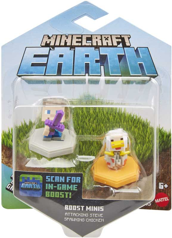 Wholesalers of Minecraft Earth Boost 2 Pack Asst toys