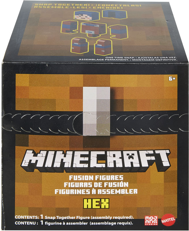 Wholesalers of Minecraft Large Fusion Figures Asst toys