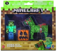 Wholesalers of Minecraft Zombie With Zombie Horse Pack toys image