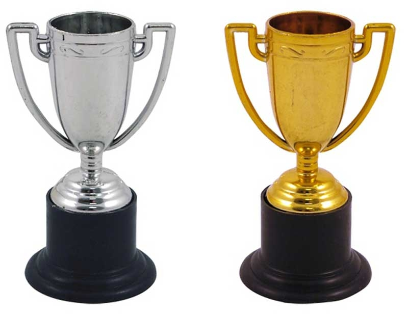 Wholesalers of Mini 10cm Gold And Silver Trophy Asst toys