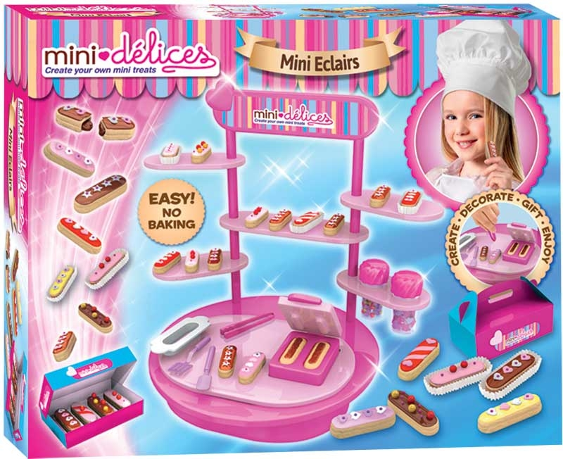 Wholesalers of Mini Delices Mini Eclairs Workshop toys