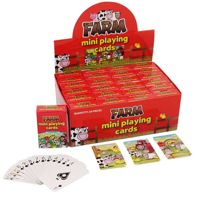 Wholesalers of Mini Playing Cards - Farm toys