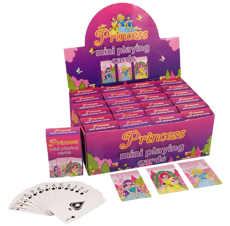 Wholesalers of Mini Playing Cards - Princess toys