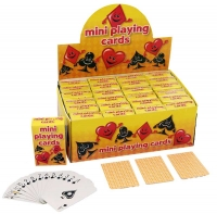 Wholesalers of Mini Playing Cards toys image