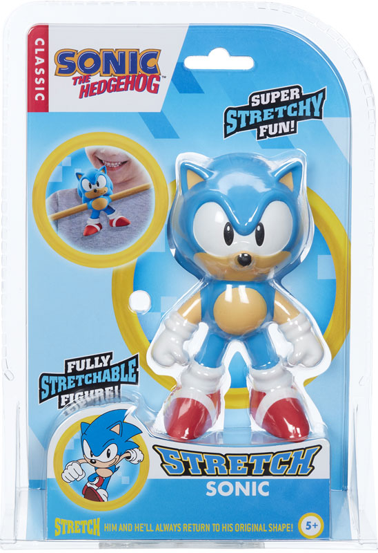 Wholesalers of Mini Stretch Sonic The Hedgehog toys