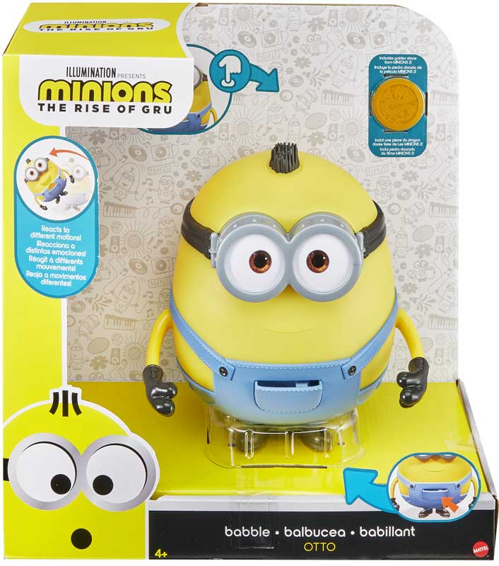 Wholesalers of Minion 2 Babbling Otto toys