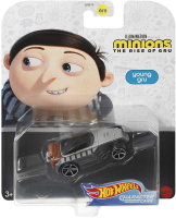 Wholesalers of Minions 2 Hw Character Cars Asst toys Tmb