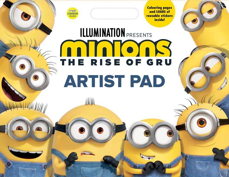 Wholesalers of Minions Artist Pad toys