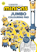 Wholesalers of Minions Jumbo Colouring Pad toys image