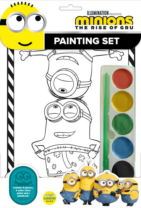 Wholesalers of Minions Painting Set toys