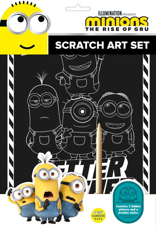 Wholesalers of Minions Scratch Art Set toys