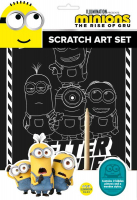 Wholesalers of Minions Scratch Art Set toys image