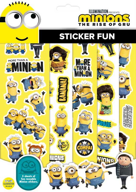 Wholesalers of Minions Sticker Fun toys