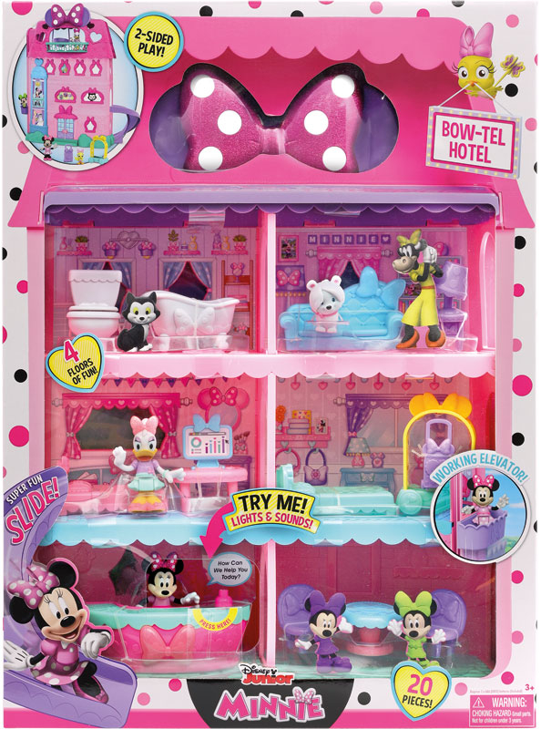 Wholesalers of Minnie Mouse Bow-tel Hotel toys