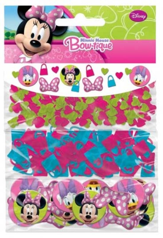 Wholesalers of Minnie Mouse Bow-tique Confetti toys