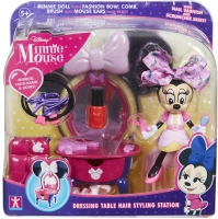 Wholesalers of Minnie Mouse Dressing Table Hair Styling Station toys image