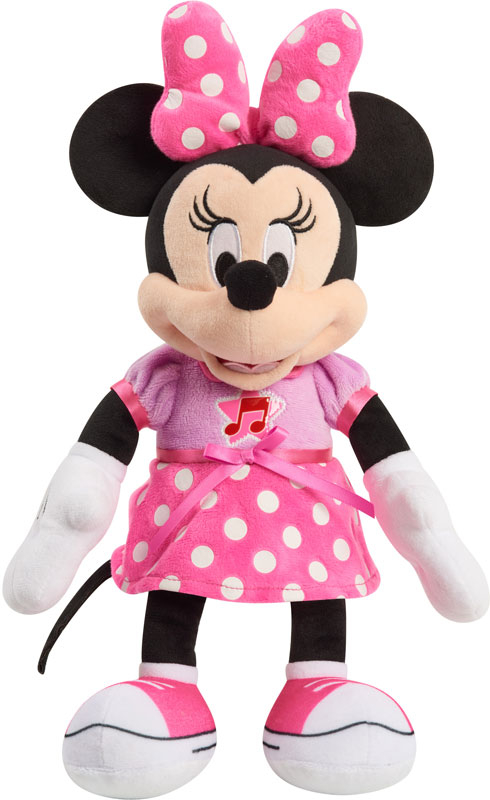 Wholesalers of Minnie Mouse Singing Fun Plush toys
