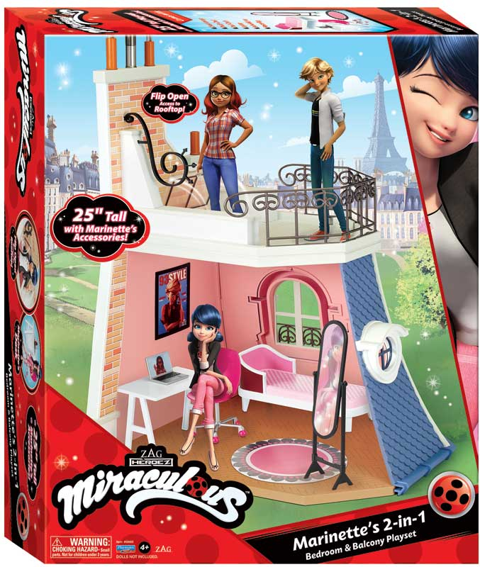 Wholesalers of Miraculous Balcony Bedroom Playset toys