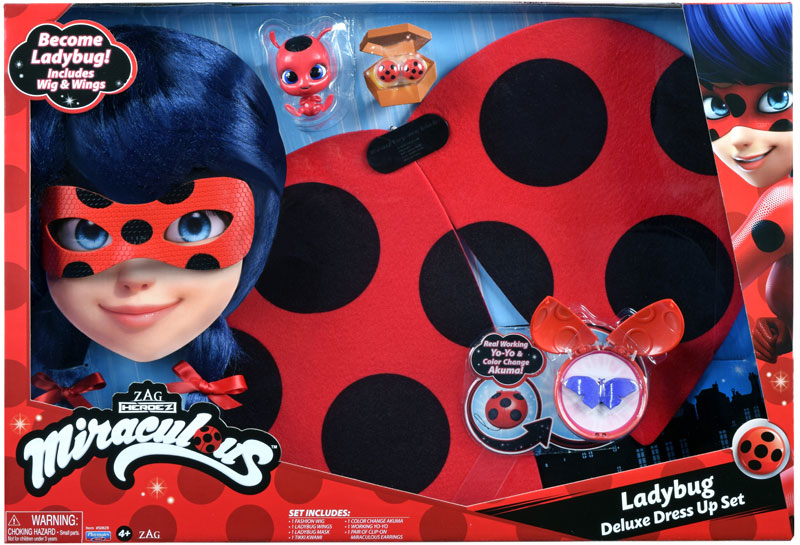 Wholesalers of Miraculous Ladybug Deluxe Role Play Set toys