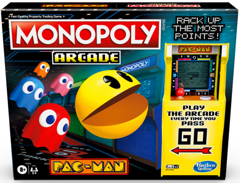 Wholesalers of Monopoly Arcade Pacman toys