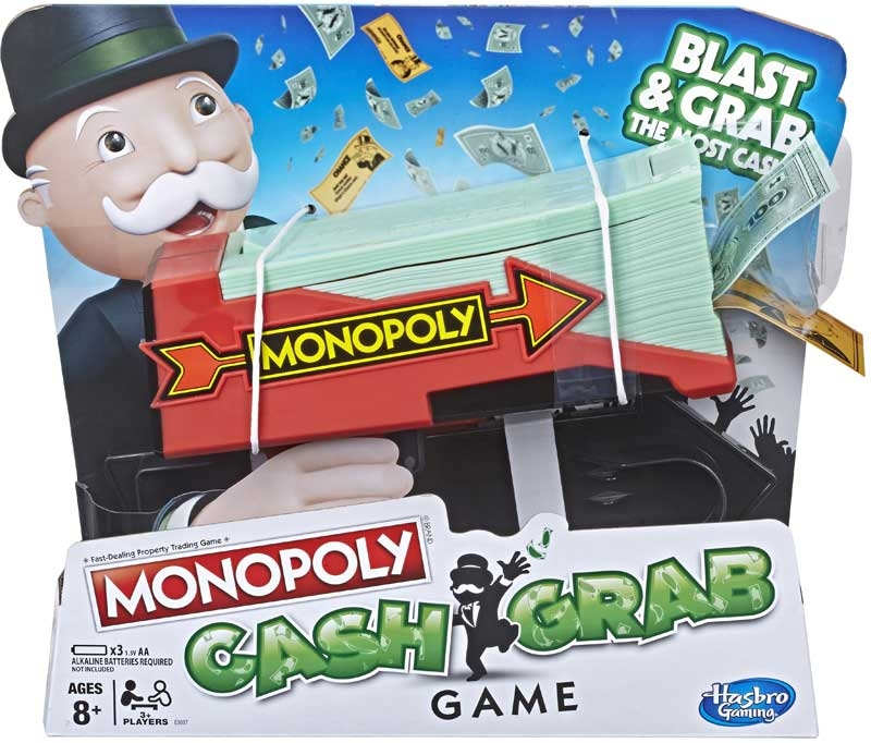 Wholesalers of Monopoly Cash Grab toys