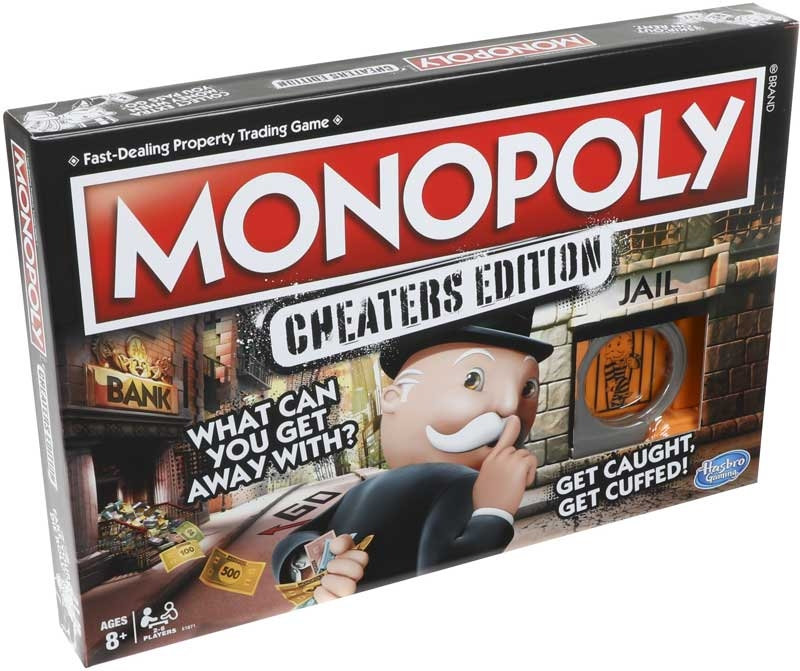 Wholesalers of Monopoly Cheaters Edition toys