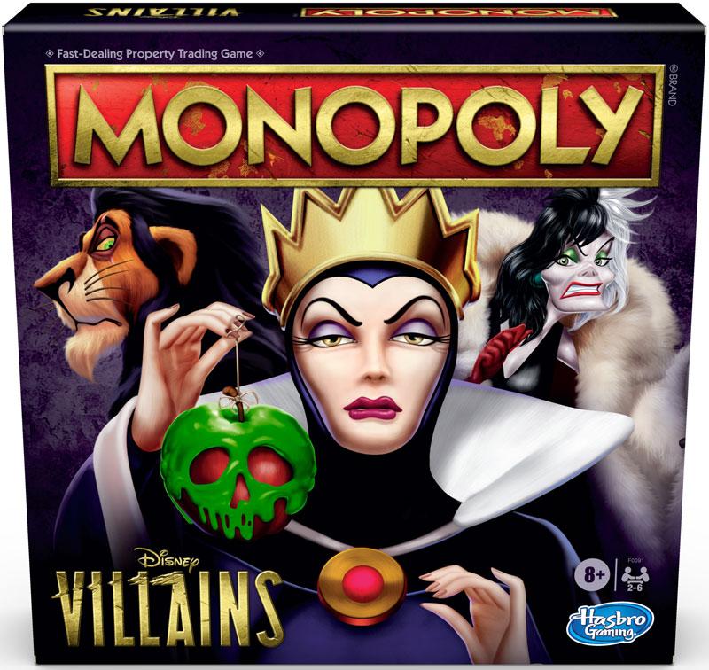 Wholesalers of Monopoly Disney Villains toys