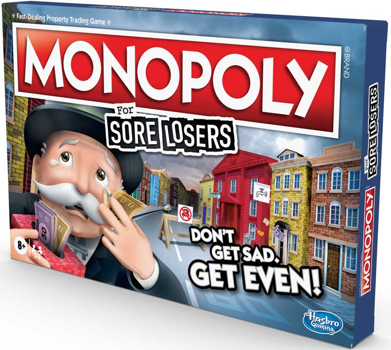 Wholesalers of Monopoly For Sore Losers toys