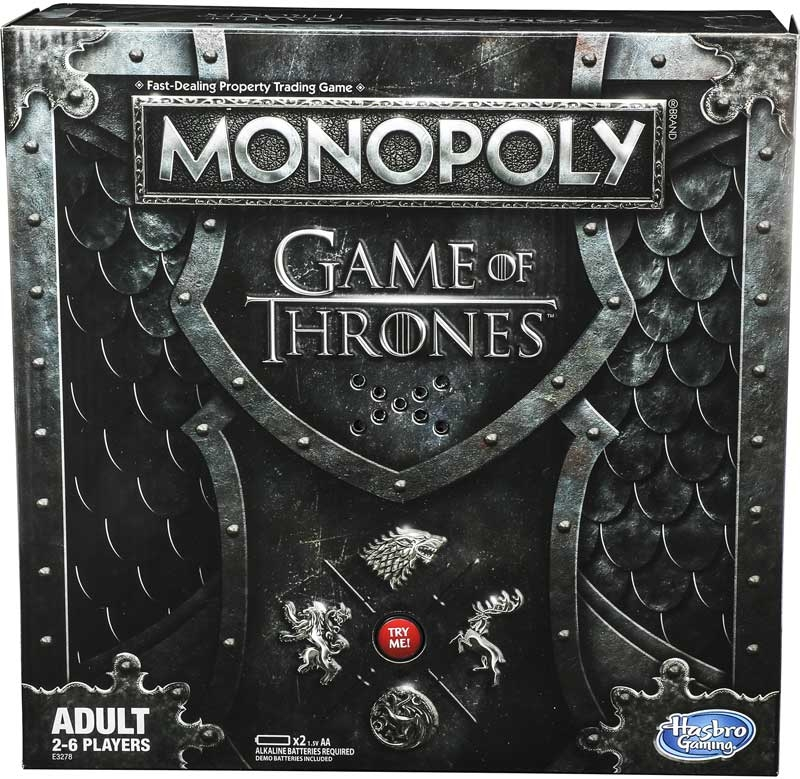 Wholesalers of Monopoly Game Of Thrones toys