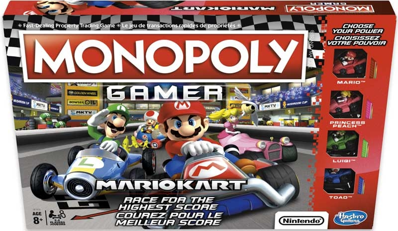 Wholesalers of Monopoly Gamer Mario Kart toys